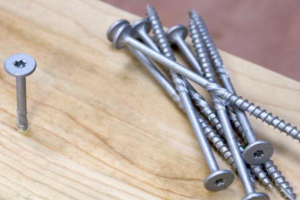 پیچ مناسب برای چوب